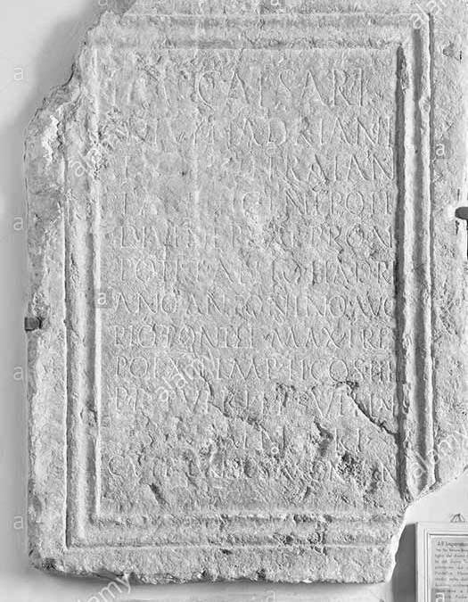 La lapide romana di Elia Bonci
