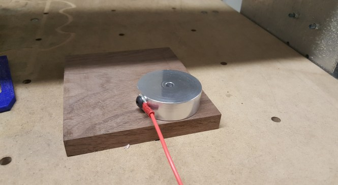 Material height measurement sensor