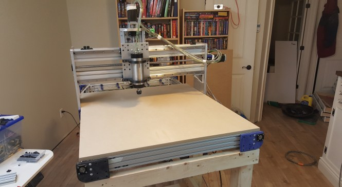 CNC Mill (late) Update