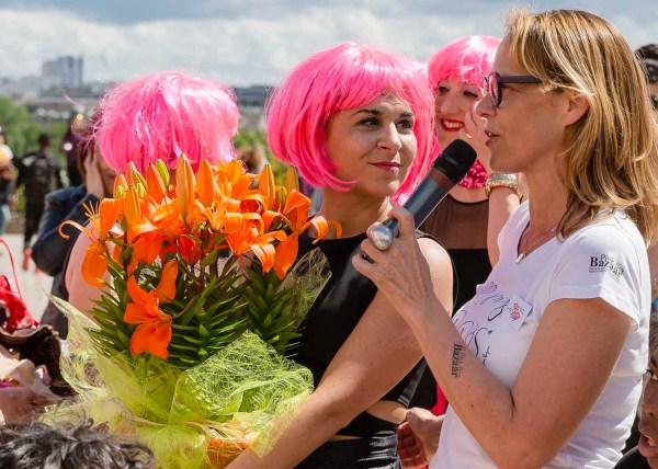 Pink Bra Spring