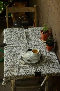 Espressofrühstück beim ersten Couchsurfer