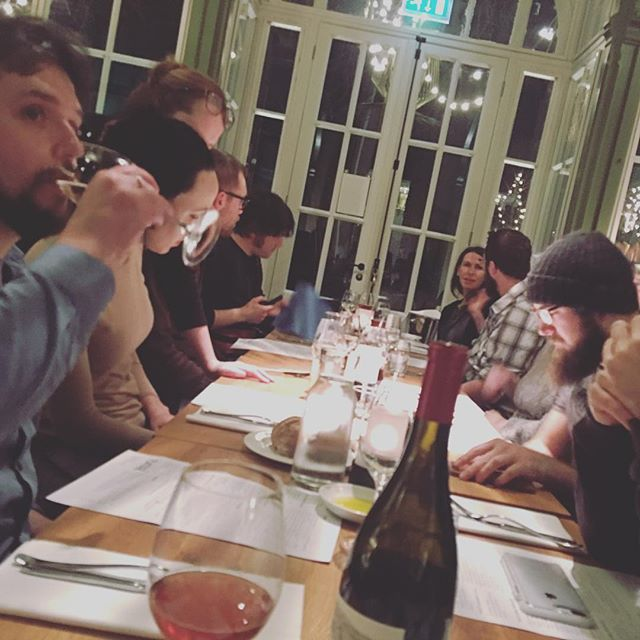 Last night in Amsterdam means dinner with our teams and some local Automatticians #travelmattic