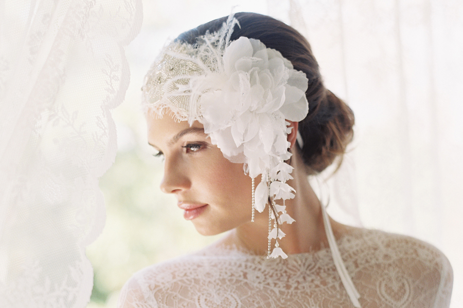 DAINTY DANGLES BEADED JULIETTE CAP