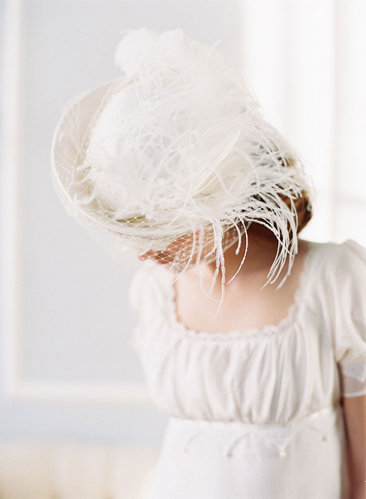 MADEMOISELLE VINTAGE INSPIRED BRIDAL HAT