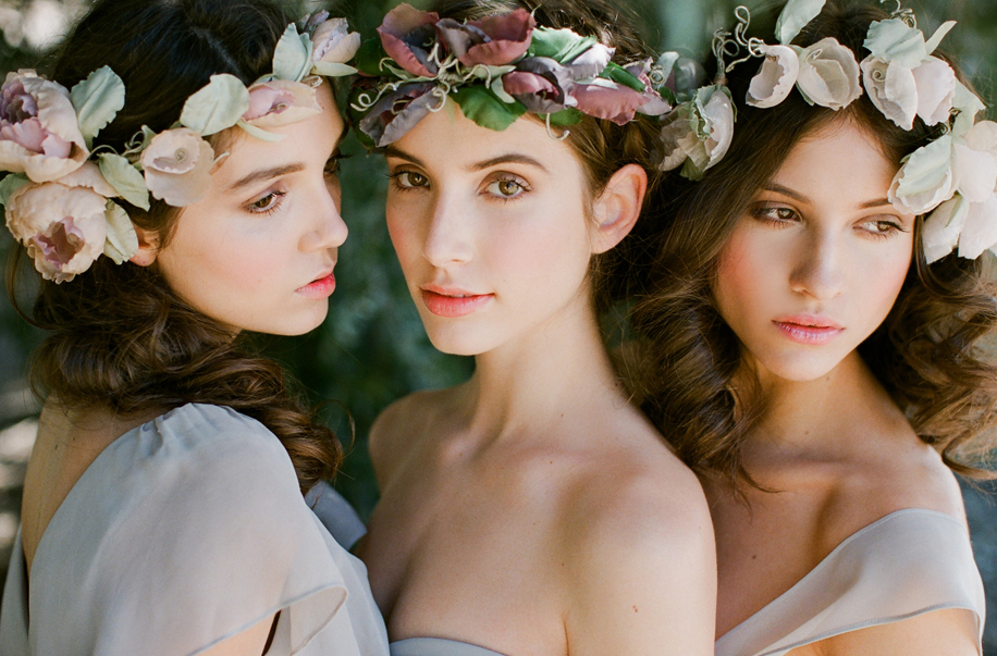 hand made flower crowns
