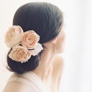 ENGLISH ROSE BRIDAL HAIR PINS NO. 2007