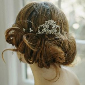 mantilla bridal hair comb