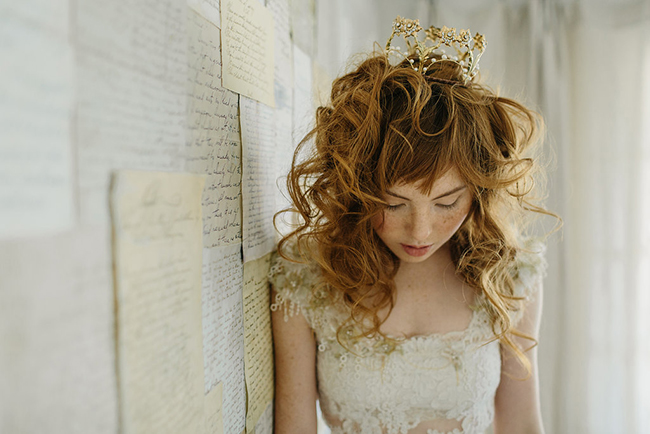 Hearts desire wedding crown