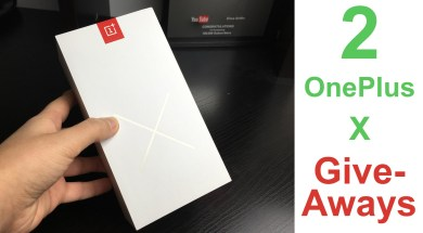 2 OnePlus X Giveaways: Half a Million Celebration! (CLOSED)