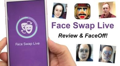 Face Swap Live App Review & FACE OFF!