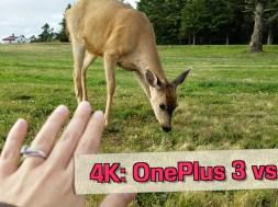 OnePlus 3 vs Galaxy S7: 4K Camera Test