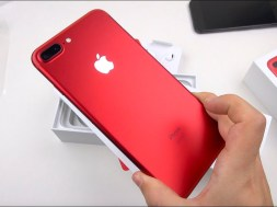 RED iPhone 7 Plus Unboxing & Close-ups!