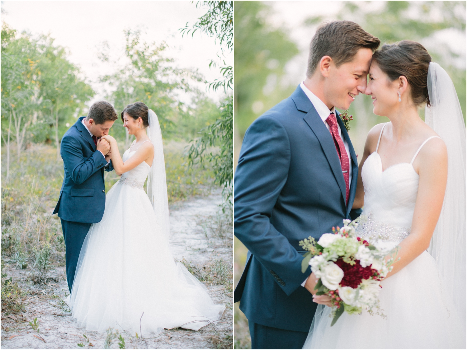 south florida winter wedding