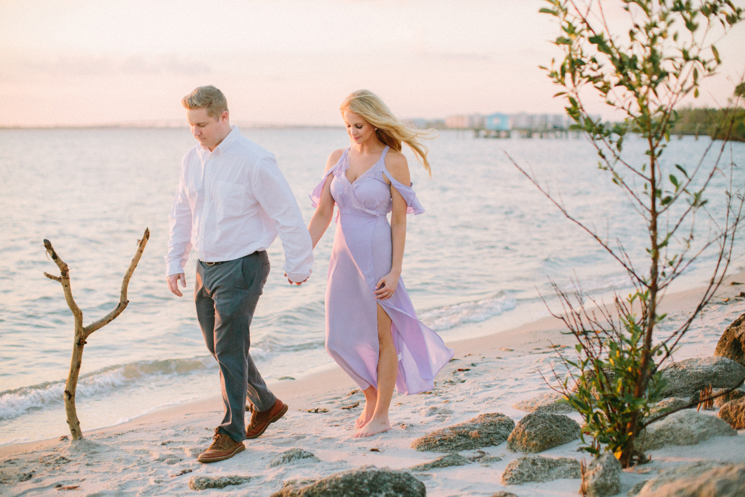 palm beach engagement photos