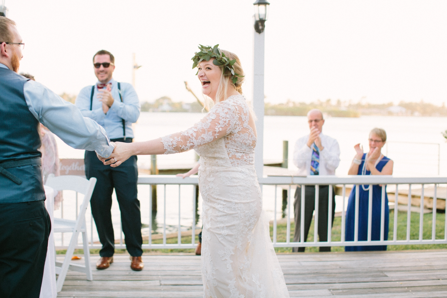 old fish house jupiter Florida outdoor wedding