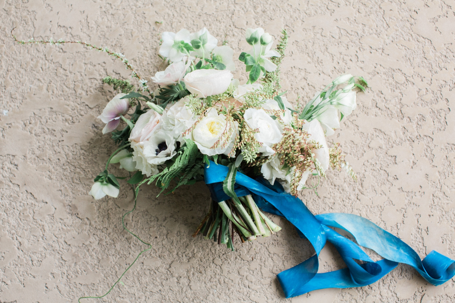 port and palm wedding bouquet