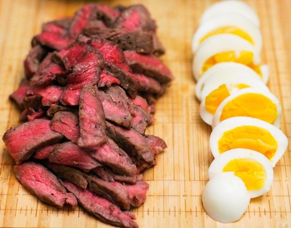 Steak and Eggs for Salad | ericajulson.com
