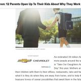 To My Children : 12 Parents Open Up About Why They Work