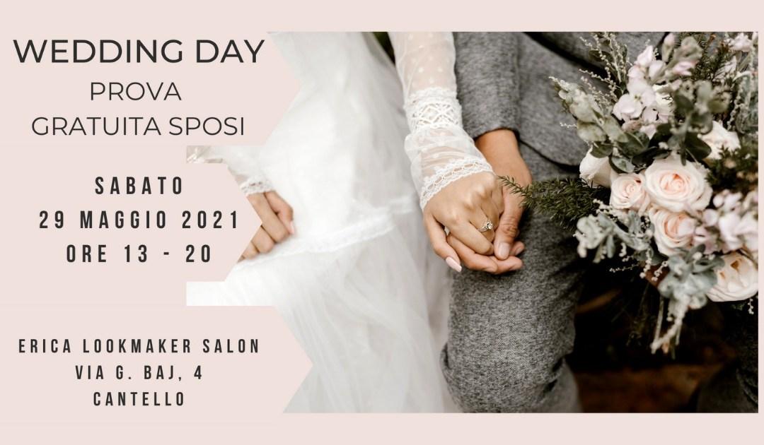 2° Wedding Day – Prova Gratuita per gli sposi nel nostro salone di Cantello