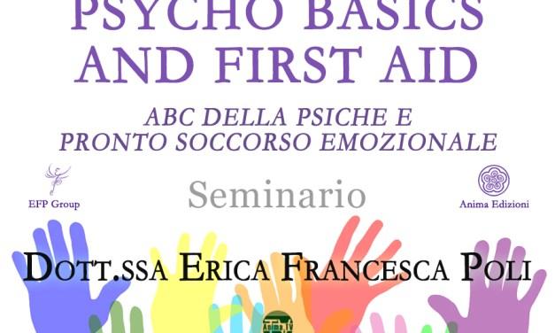 Psycho basics & first aid