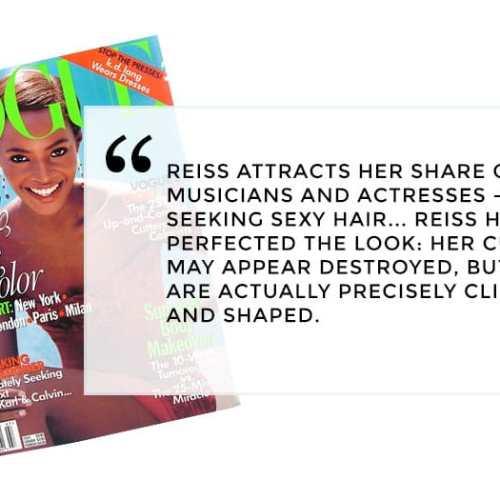 Erica Reiss Vogue Magazine Review