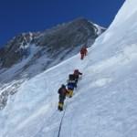 Klimmers in de Lhotsewand