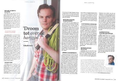 """""""Droom tot over de horizon"""" – Eric Arnold in het Speakers Academy Magazine"""