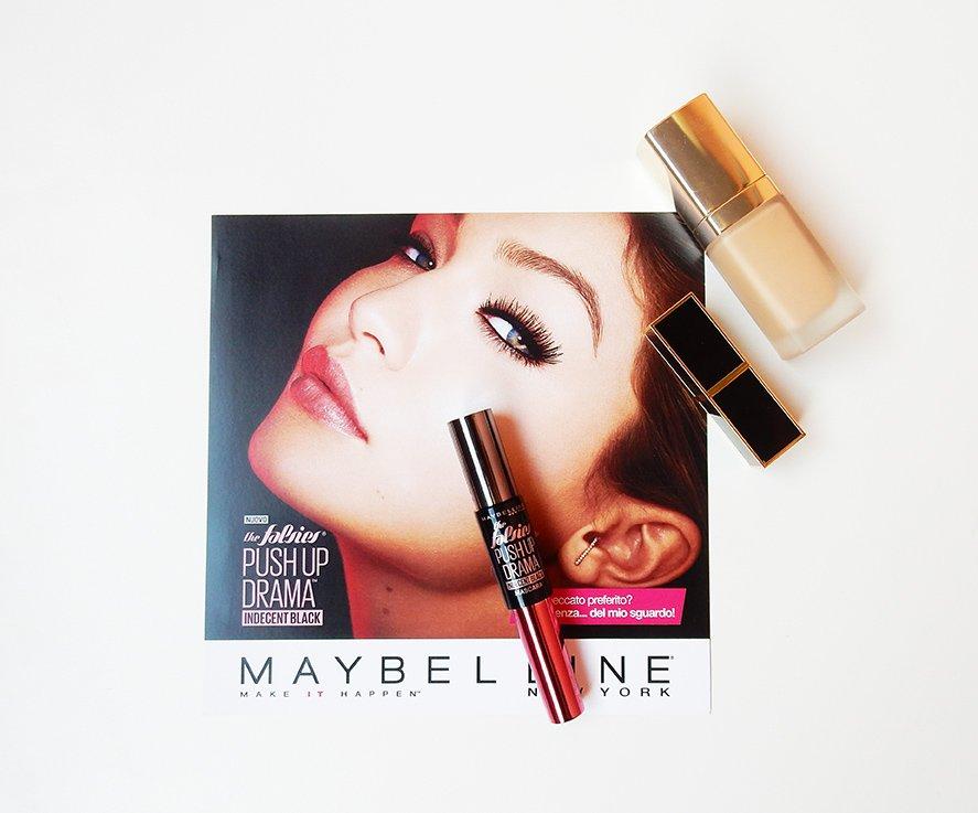 Sguardo INDECENT con Maybelline Push Up Drama Indecent Black