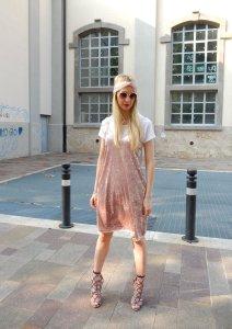 3 Flattering Ways to create a unique look in a Velvet Slip Dress