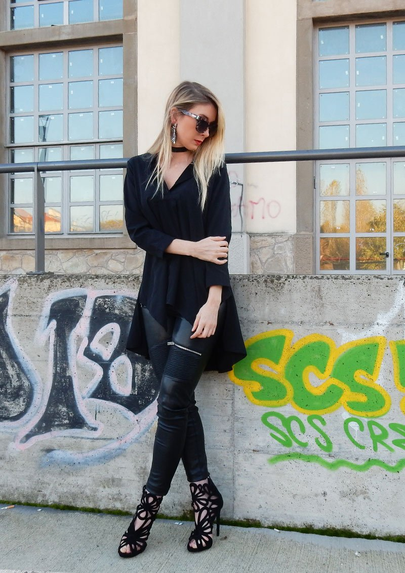 How to style leather pants? A lot of people ask me this question on Instagram. In this post I will give you some tips on how to style them.