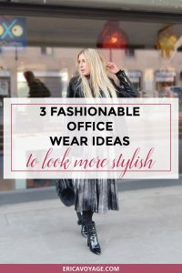 Are you looking for office wear ideas? Well you are in the right place, I created some outfits to inspire you and to look more stylish at work.