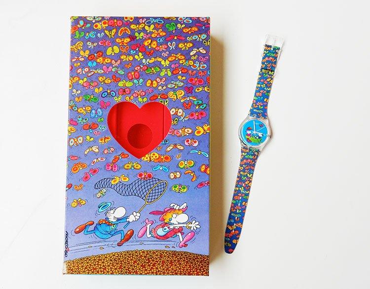 Planet Love di Swatch è un orologio speciale per gli innamorati, disegnato dal famosissimo fumettista argentino Guillermo Mordillo.