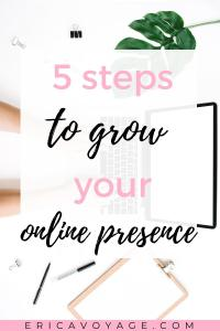 Online presence is one of the most powerful assets a business has.If you're building a business a good online presence is a must.