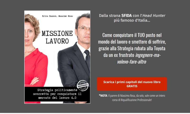 Missione Lavoro, Massimo Rosa, Erica Zuanon