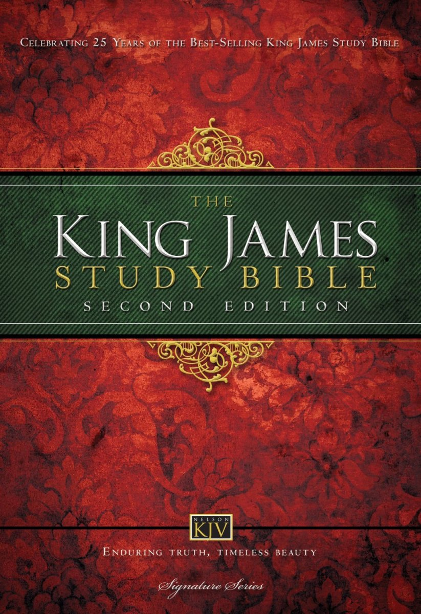 King James Study Bible, Second Edition Comparison