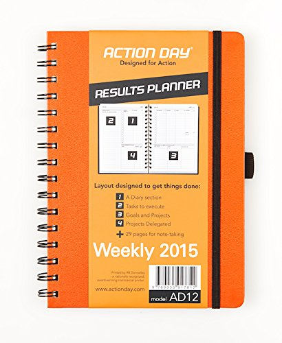 Action Day Planner 2015 (Orange)