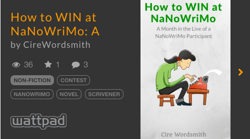 How to WIN at NaNoWriMo story info