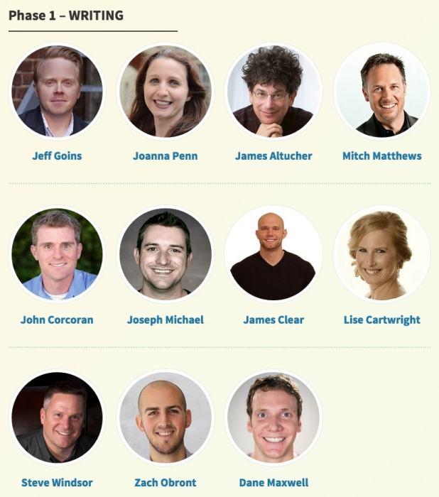 Self-Publishing Success Summit Phase 1 - Writing-min