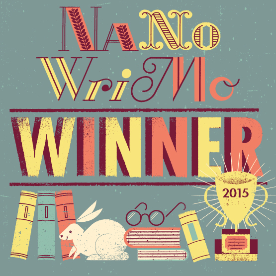 NaNoWriMo Winner Large Square