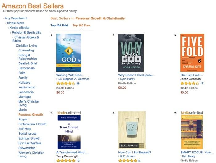 Amazon Bestseller Status: The Journey Awaits | Eric Beaty