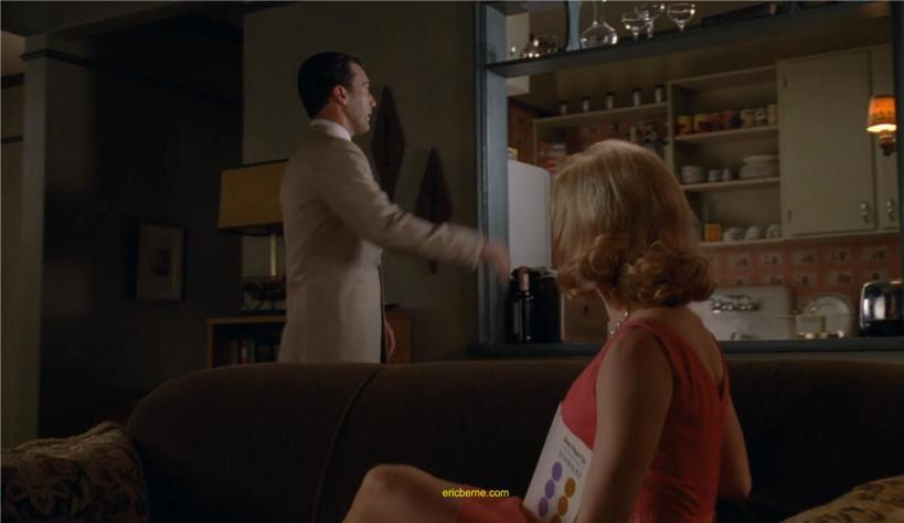 Games People play by Eric Berne as seen on the Chinese Wall episode of Mad Men with Don Draper and Faye Miller