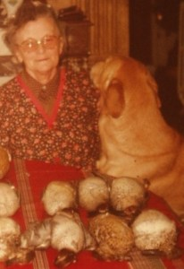 Josephine et son chien Osman