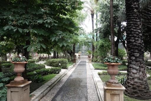 Botanische tuin van Catania