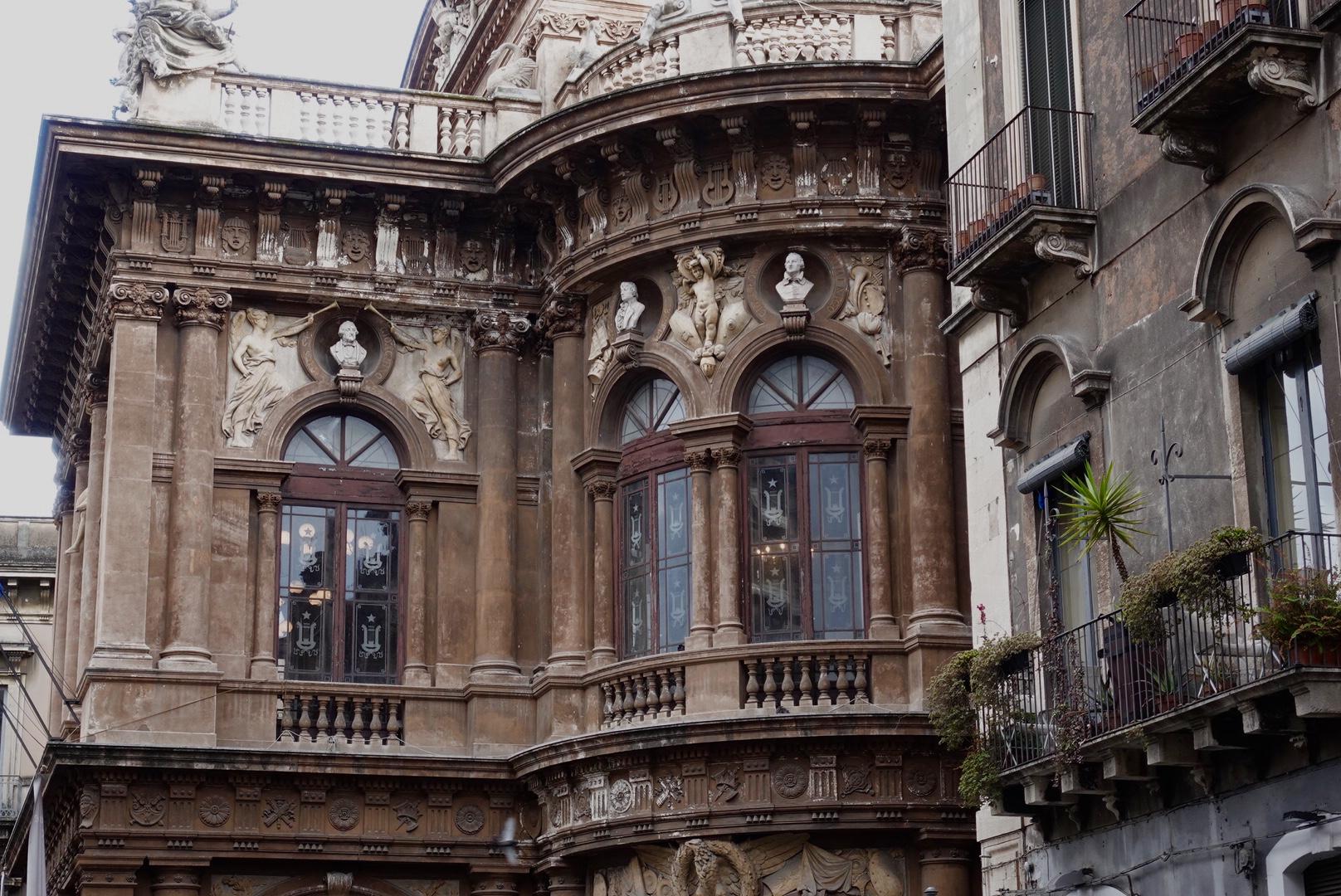 Het Bellinitheater, Catania