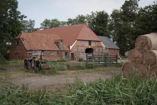 Een boerderij in Nedersaksen