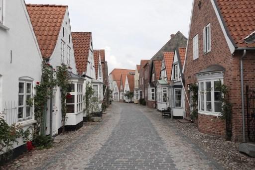 Straatje (Uldgade) in Tønder, Denemarken