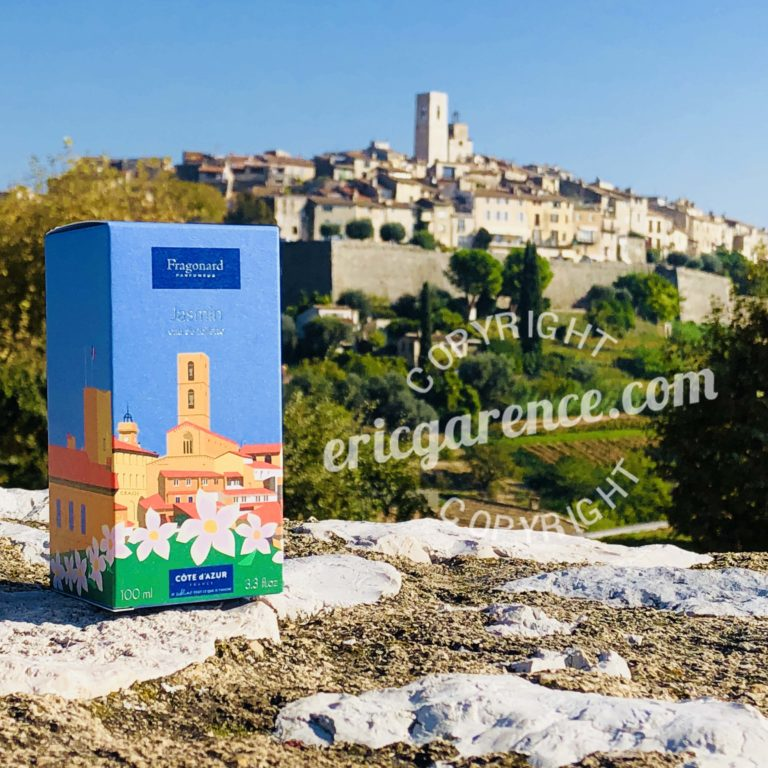 Saint Paul de Vence Fragonard Eric Garence Cote d'azur French Riviera Collection Parfum Cadeau Eau