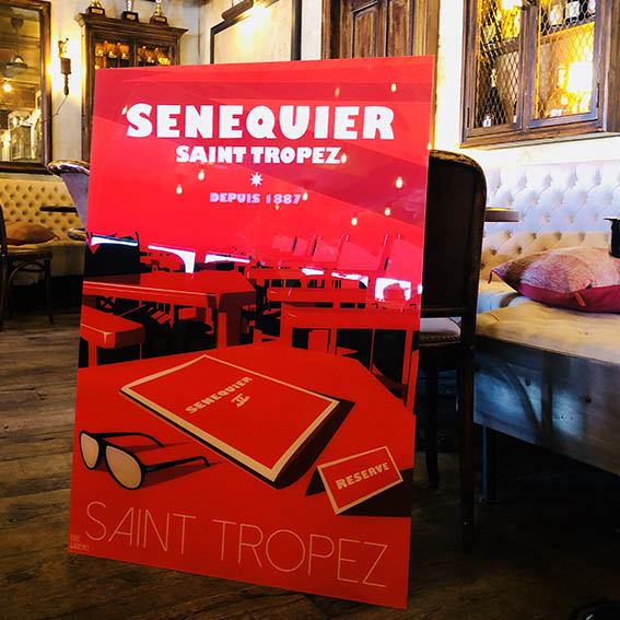 Senequier Eric Garence Saint Tropez Exclusive Collection Karl