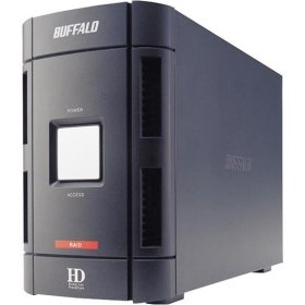 Buffalo DriveStation DUO external hard drive with RAID