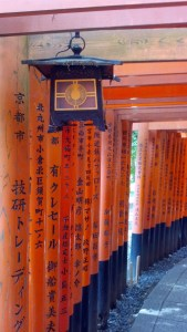 Running through all these torii will make you think you're being transported to another world!